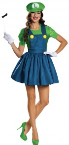 Super Mario Bros. Luigi Skirt Adult Costume_thumb.jpg