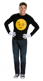 Wink Emoticon Emoji Adult Costume Kit_thumb.jpg