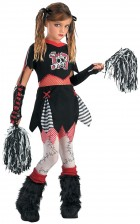 Cheerless Leader Child Cheerleader Halloween Girl's Costume_thumb.jpg