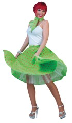 Sock Hop Skirt Teen Green Girl's Costume_thumb.jpg