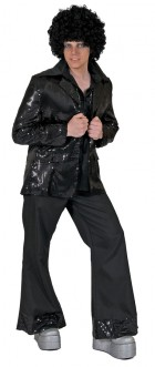 Disco Jacket Black Adult Costume_thumb.jpg