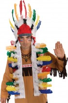 Adult Native American Indian Multi-Color Costume Headdress_thumb.jpg