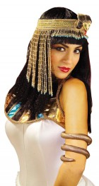Cleopatra Egyptian Asp Snake Headpiece Costume Accessory_thumb.jpg