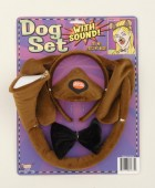 Puppy Dog Ears Tail Bowtie & Nose With Sound Costume Accessory Set_thumb.jpg