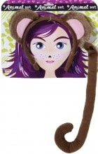 Monkey With Tail Adult Costume Kit_thumb.jpg