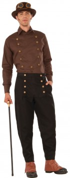 Steampunk Adult Brown Shirt_thumb.jpg