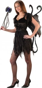 Midnight Fairy Black Teen Girl's Costume_thumb.jpg