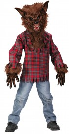 Brown Werewolf Child Costume Large_thumb.jpg
