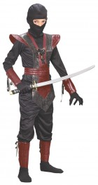 Ninja Samurai Fighter Leather Look Child Costume_thumb.jpg