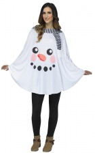 Snowman Poncho Adult Costume Accessory Kit_thumb.jpg
