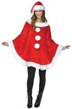 Santa Poncho and Hat Adult Costume Accessory Kit_thumb.jpg