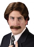 1970's Wig with Matching Mustache Costume Accessory Set_thumb.jpg