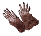 Adult Scary Werewolf Long Brown Gloves with Finger Nails_thumb.jpg