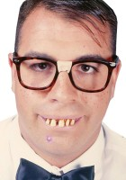 Geek Nerd Teeth Glasses Bow Tie Instant Costume Kit Adult_thumb.jpg