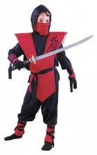 Complete Red Ninja Warrior Samurai Child Costume_thumb.jpg