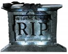 Tombstone Pedestal 22in With Rose Halloween Prop_thumb.jpg