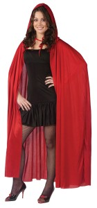 Cape 68 Inch Hooded Red Adult_thumb.jpg