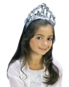 Child Sparkling Silver Sequin Princess Costume Tiara _thumb.jpg