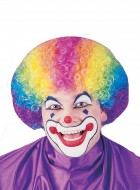Clown Rainbow Party Costume Afro Funny Wig_thumb.jpg