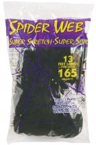 Spider Web Black 50g Halloween Decoration_thumb.jpg