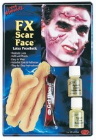 Gory Zombie Scar Face FX Prosthetic Make Up Kit _thumb.jpg