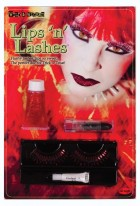 Lips and Lashes Devil Red Women's Costume Accessory Kit_thumb.jpg