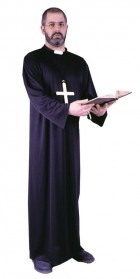 Adult Priest Robe with Collar Costume One Size_thumb.jpg