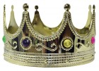 Kings Jeweled Gold Plastic Crown Men's Accessory_thumb.jpg