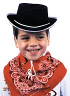 Child Western Cowboy Hat Costume Play Accessory Black_thumb.jpg