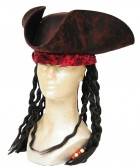 Brown Pirate Adult Hat With Dreadlocks_thumb.jpg