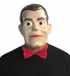 Goosebumps Slappy the Dummy Adult Half Mask and Bow Tie_thumb.jpg