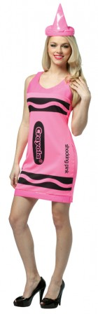 Crayola Tank Dress Neon Pink Adult Costume_thumb.jpg
