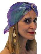 Gypsy Turban With Charms Adult Hat Costume Accessory_thumb.jpg