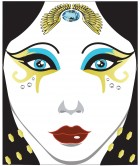 Egyptian Face Decal Adult Makeup Costume Accessory_thumb.jpg