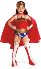 Justice League DC Comics Wonder Woman Child Girl's Costume_thumb.jpg