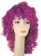 Clown Disco Dark Purple Adult Wig_thumb.jpg