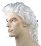 Colonial Man Special Bargain White Adult Wig_thumb.jpg