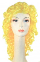 Clown Disco Wavy Yellow Adult Wig_thumb.jpg
