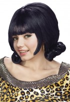 1960s Grease Flip Adult Costume Wig Black_thumb.jpg