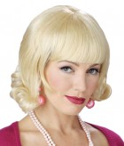 1960s Grease Flip Adult Costume Wig Blonde _thumb.jpg