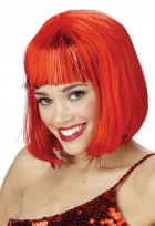 1920s Flapper Shimmering Bob Wig With Bangs Red _thumb.jpg