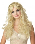 Princess Adult Long Curly Costume Wig Blonde _thumb.jpg