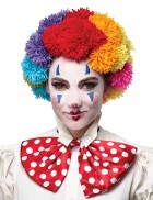 Pom Clown Adult Wig Rainbow_thumb.jpg