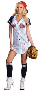 Grand Slam Adult Women's Baseball Player Costume_thumb.jpg