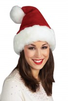 Santa Deluxe Faux Fur Adult Hat Costume Accessory_thumb.jpg