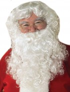 Economy Santa Claus Beard & Wig Set Men's Costume Accessory_thumb.jpg