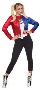 Suicide Squad Harley Quinn Jacket Shirt Teen Costume Kit_thumb.jpg