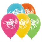 Melbourne Cup Horse Racing Tropical Assortment 30cm Latex Balloons Pack of 25_thumb.jpg