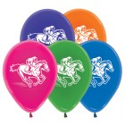 Melbourne Cup Horse Racing Jewel Crystal 30cm Latex Balloons Pack of 25_thumb.jpg