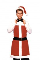 Santa Bartender Apron and Hat Adult_thumb.jpg
